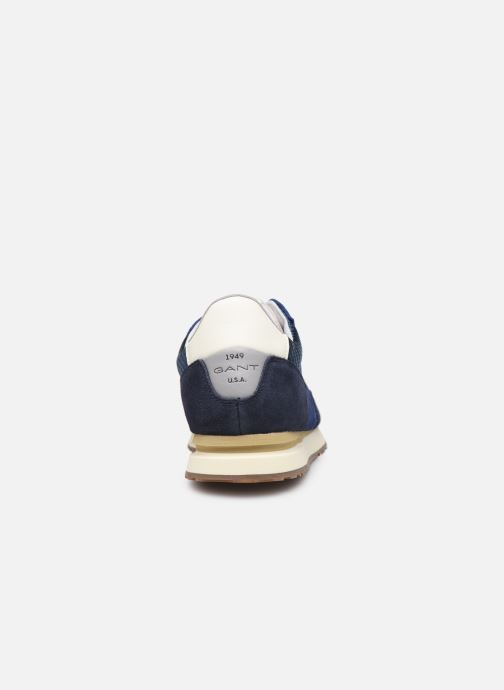 Trainers Gant Davenport Blue view from the right